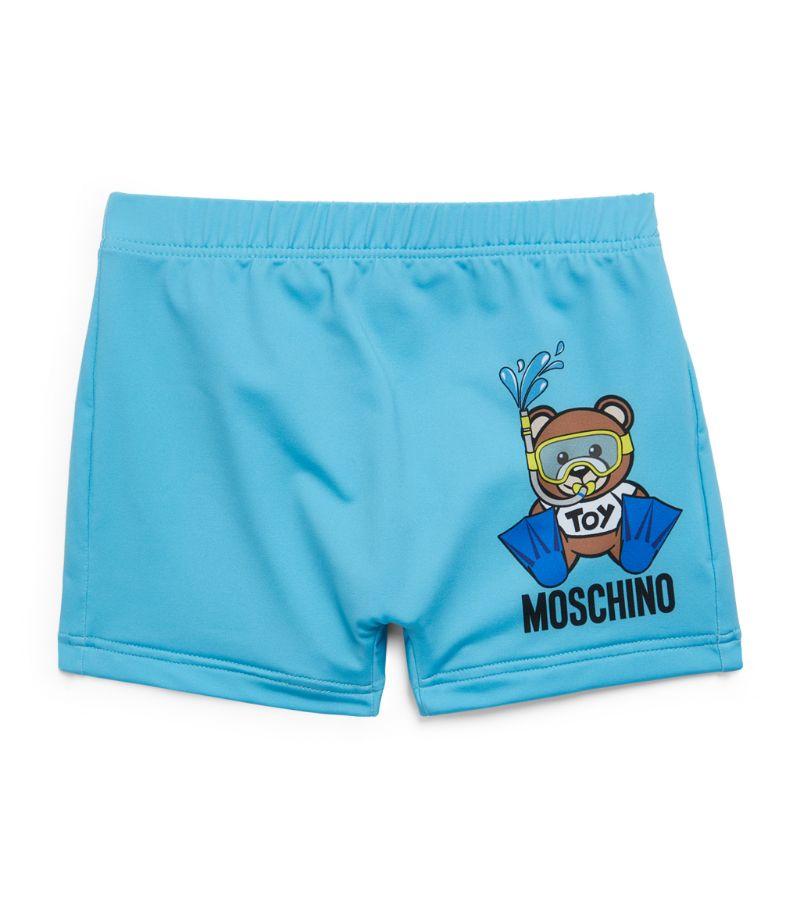Moschino Kids Teddy Bear Swim Shorts (6-36 Months)