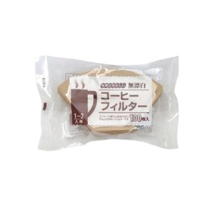 日本KANAE 梯型無漂白101濾紙400枚入