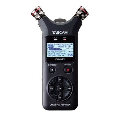 TASCAM DR-07X 攜帶型數位錄音機 公司貨