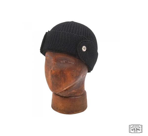 H.W.DOG&CO. TIM KNITCAP 20AW改良式多功能毛料針織帽(兩色)