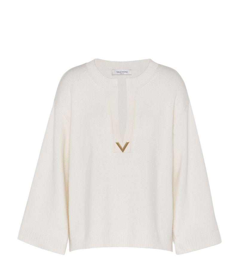 Valentino Cashmere Vgold Sweater