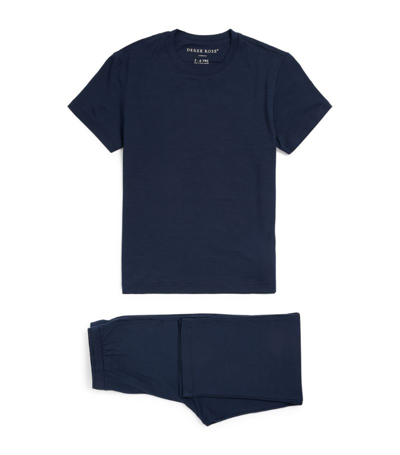 Derek Rose Kids Basel T-Shirt And Trouser Set (3-16)