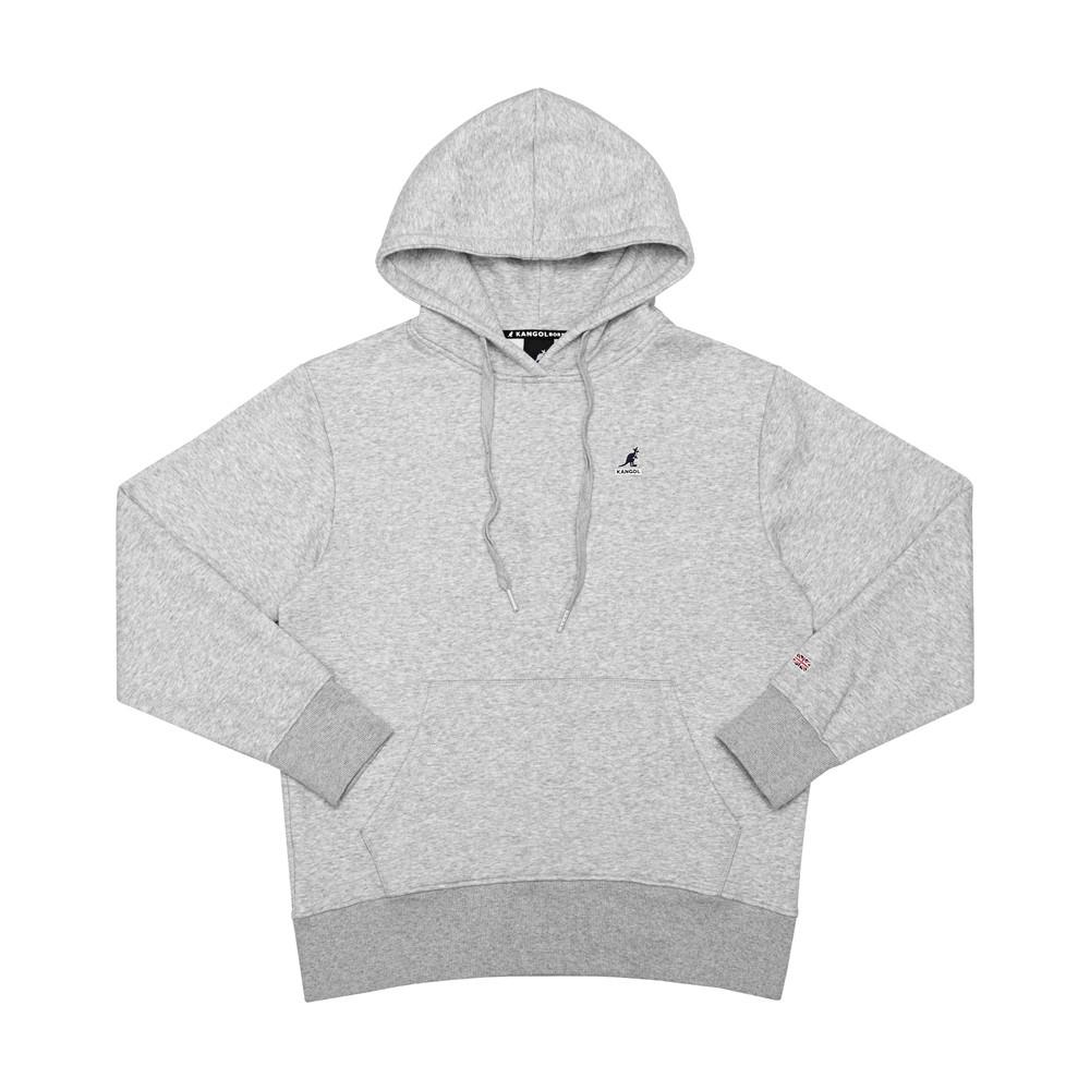 KANGOL 運動帽T 長袖 灰色 小袋鼠刺繡LOGO 6951105212 noE35