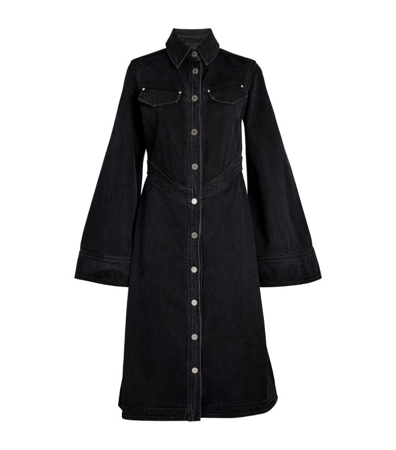 Slvrlake Denim Maverick Corset Coat