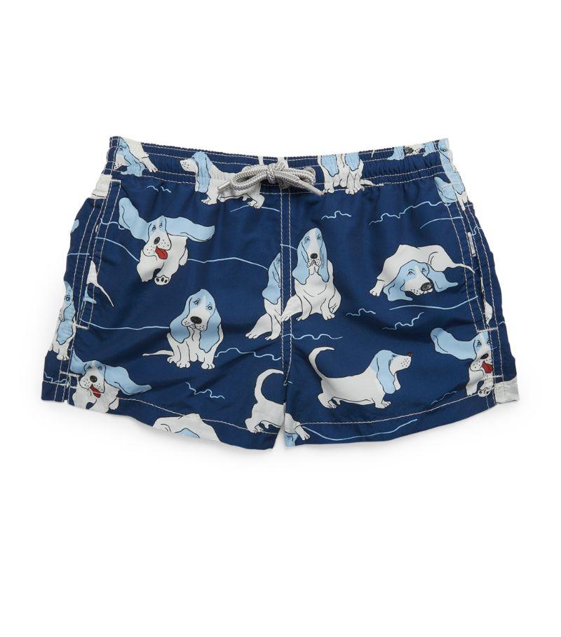 Mc2 Saint Barth Dog Swim Shorts (4-14 Years)
