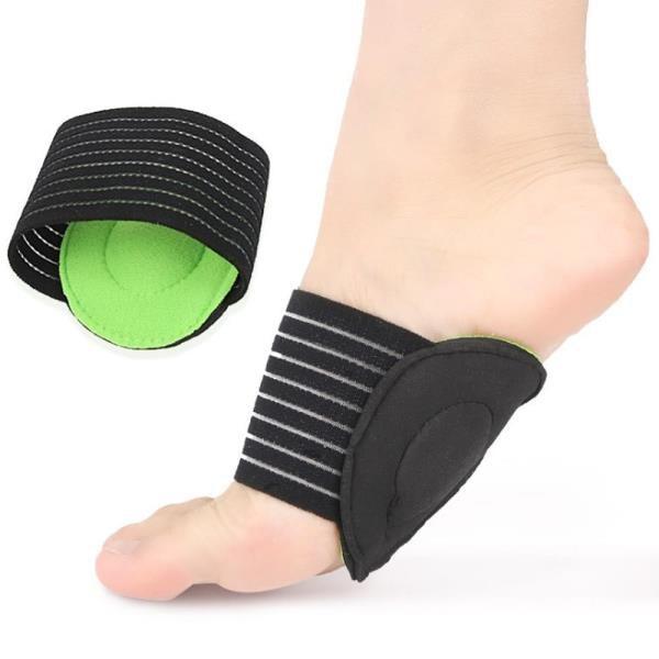 (杰恆)los0496跨境護腳墊扁平足弓腳墊運動時尚透氣鞋墊繃帶腳套