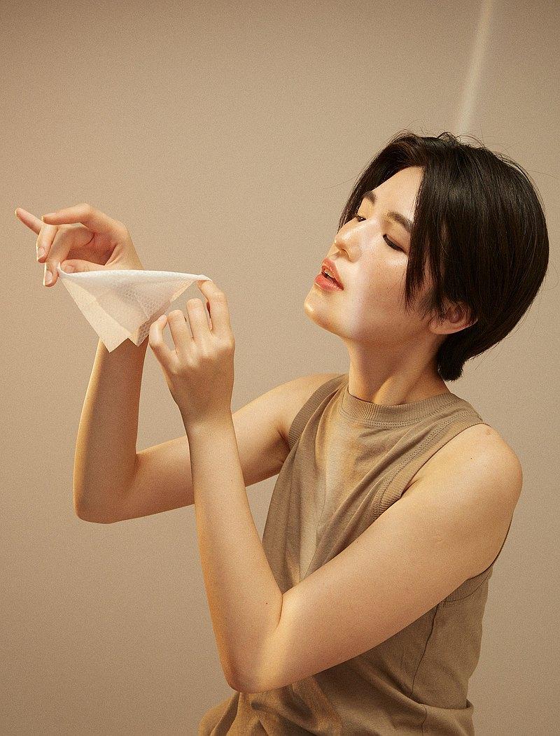 加水即卸 ∣ 100%純棉卸妝巾