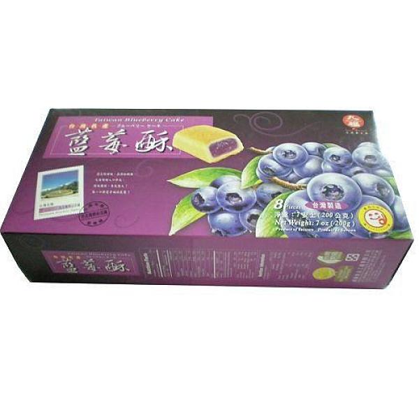 九福藍莓酥200g【愛買】