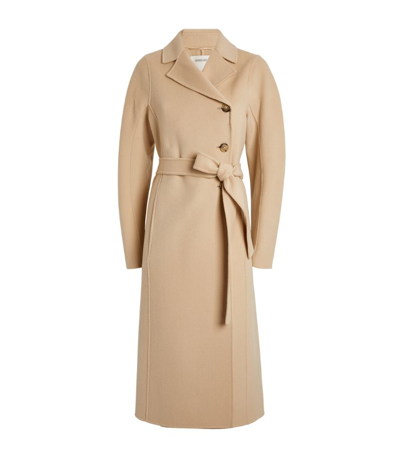 Sportmax Virgin Wool Cavour Coat