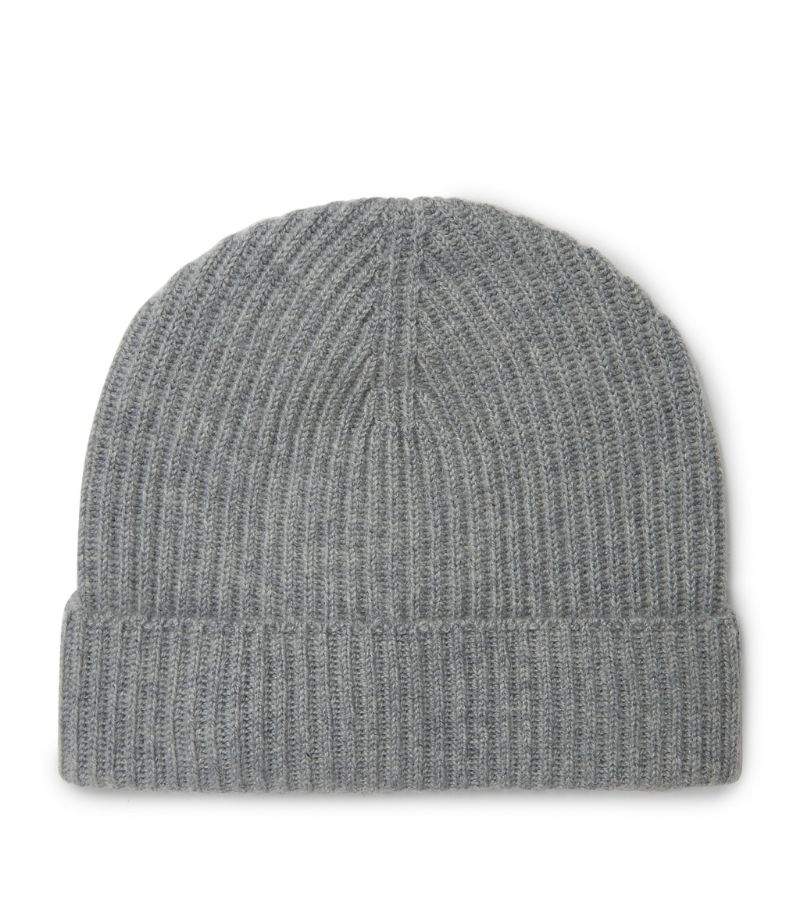 Johnstons Of Elgin Cashmere Ribbed Beanie
