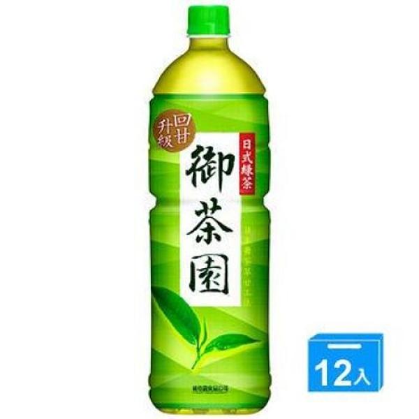 御茶園日式綠茶1250mlx12【愛買】