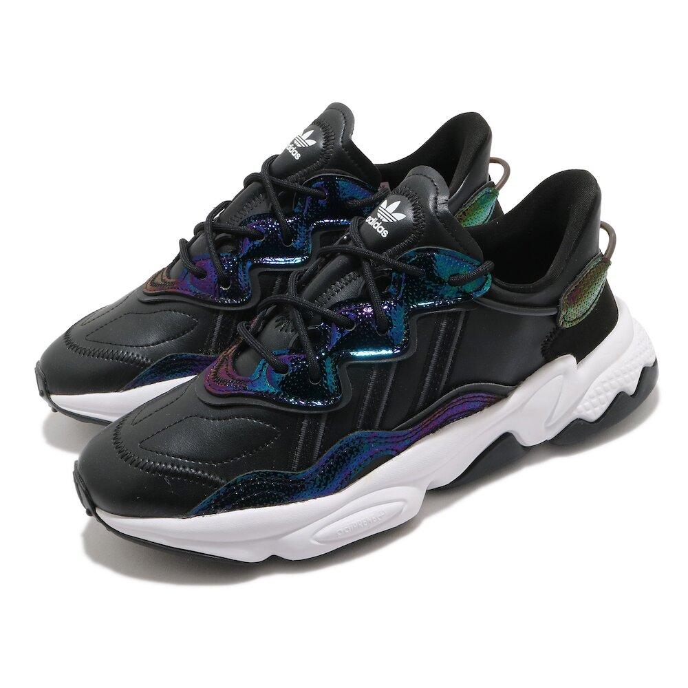 ADIDAS 休閒鞋 OZWEEGO 流行款 女鞋 海外限定 愛迪達 三葉草 緩震 穿搭推薦 黑 藍 [EG9160]
