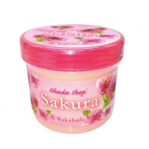 【iBeaute】wakahada身體用磨砂膏(櫻花香)