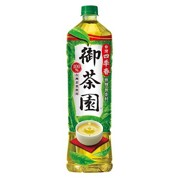 御茶園台灣四季春1250ML【愛買】