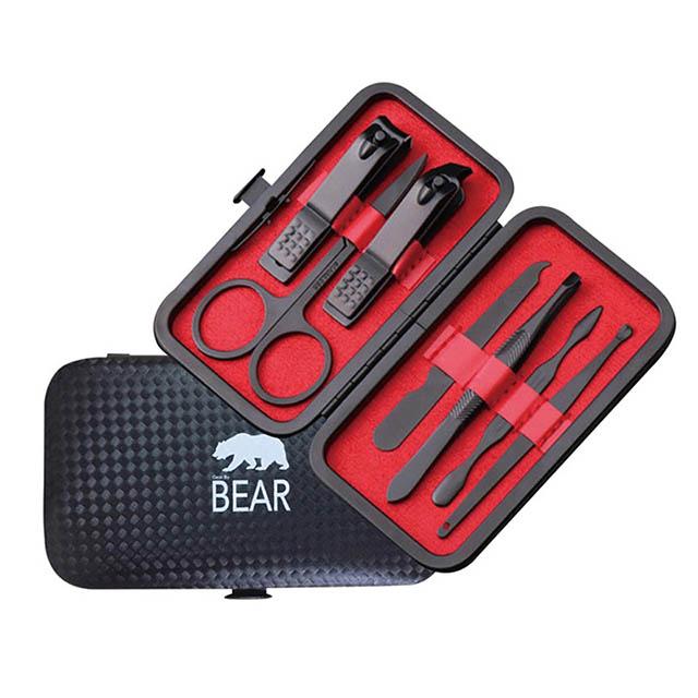 免運 DL BEAR鋼質7件修容組  A463004C 【2組】