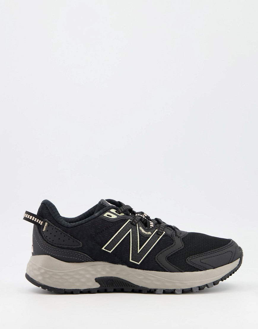 New Balance trail 410 trainers in black