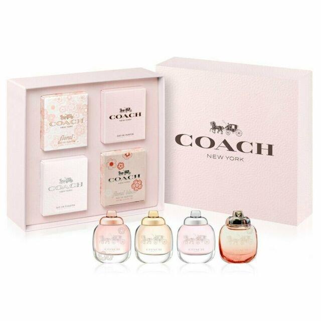 COACH 4入女性小香禮盒