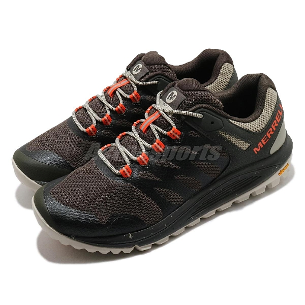 Merrell 登山鞋 Nova 2 深咖啡色 橘 男鞋 郊山健走 戶外鞋【ACS】 ML066717