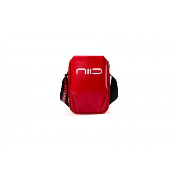 S2 防水隨身斜背小包 亮紅色
