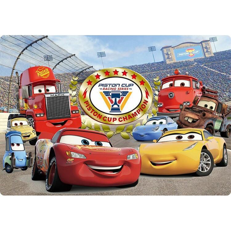 Tenyo 冠軍是我 41P 拼圖總動員 Cars 3 迪士尼 兒童 紙板 日本進口拼圖