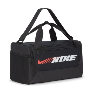 Nike 手提包 Training Duffle Bag 男款 行李袋 健身 重訓 大容量 獨立置鞋區 黑 白 CU9476010