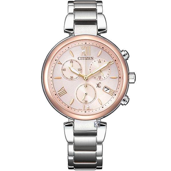 CITIZEN星辰 xC 水耀光情人節限定女錶(FB1455-50W)35mm