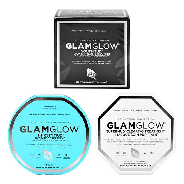 【Glam Glow】深層清潔/瞬效補水/瞬效完美發光面膜(50g/1.7oz)
