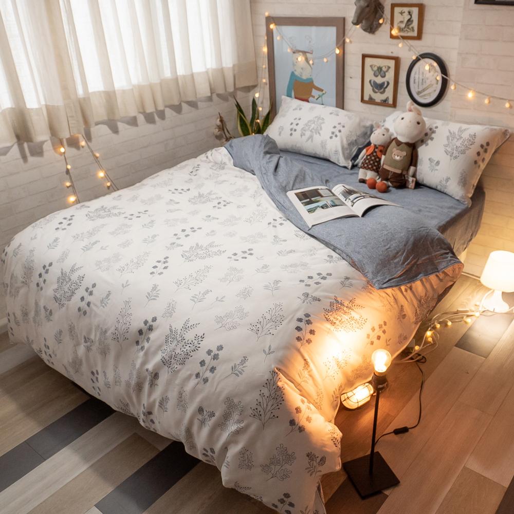 台灣製100%天絲 薄床包兩用被組合 Silicon-forest【棉床本舖】