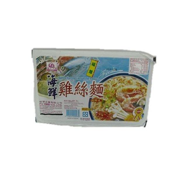 福慧 雞絲麵(海鮮口味) 300g【愛買】