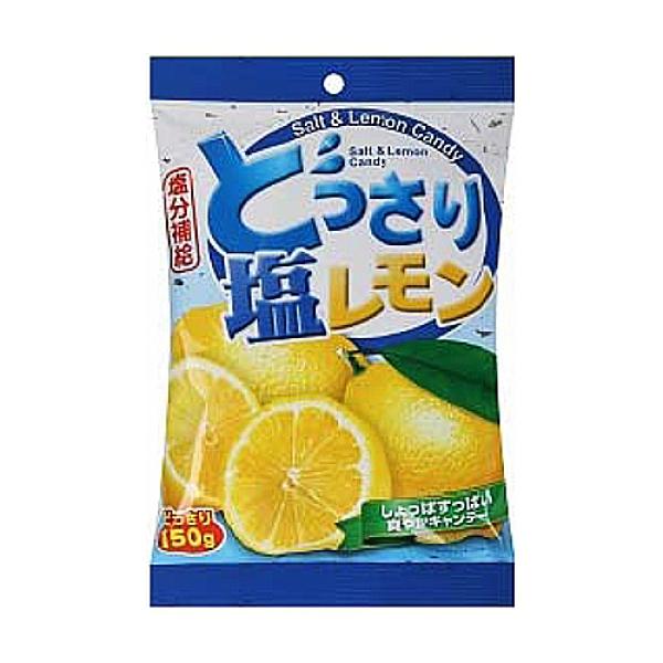 可康海鹽檸檬糖150g【愛買】