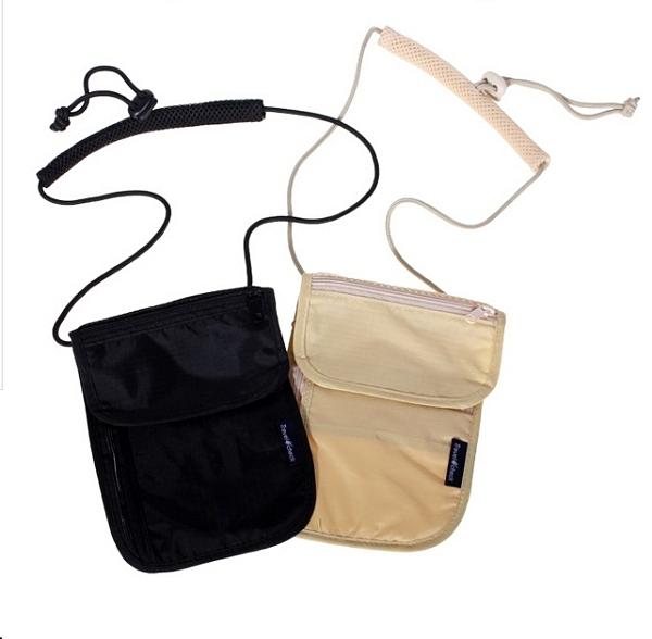 旅行出差隨身證件護照小掛包 多功能證件袋 戶外防盜隱形貼身證件包