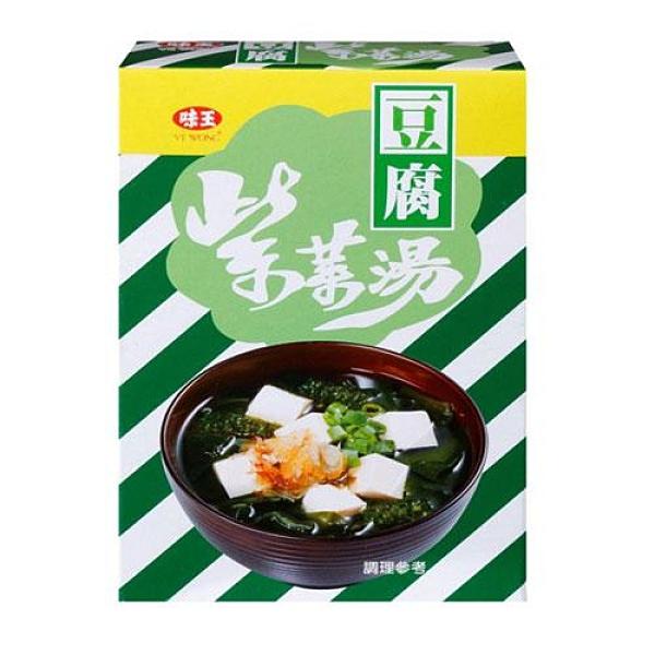 味王紫菜豆腐湯4.5g x5包/盒【愛買】