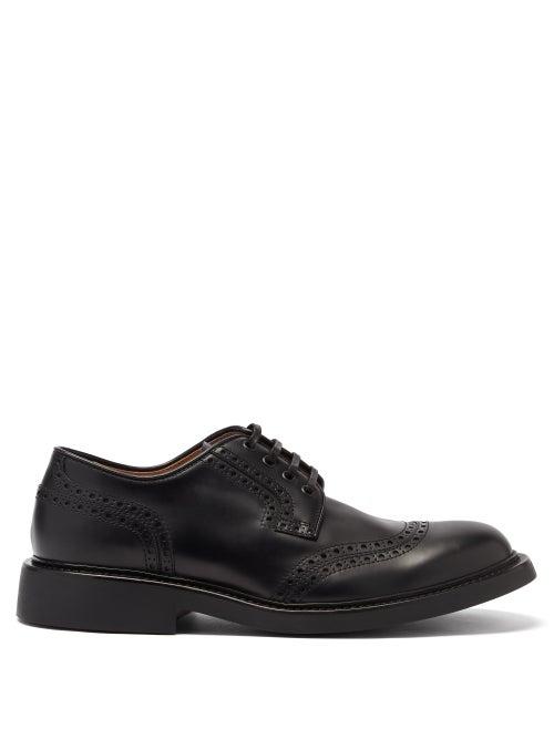 Bottega Veneta - Tokyo Leather Brogues - Mens - Black