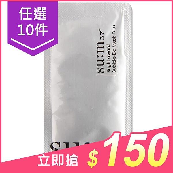 韓國 su:m 37 三合一氧氣泡泡面膜(4.5ml) 白色【小三美日】$19