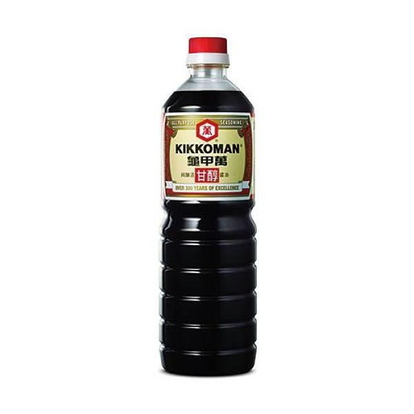 統一龜甲萬甘醇醬油1000ml【愛買】