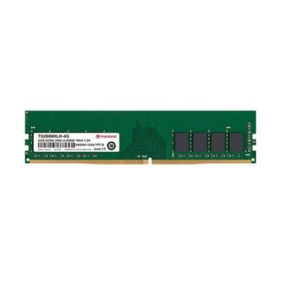 Transcend創見 TS系列  DDR4-2666MHz 4GB 桌上型記憶體