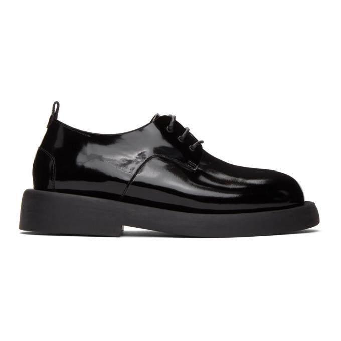 Marsell 黑色 Gommello 牛津鞋