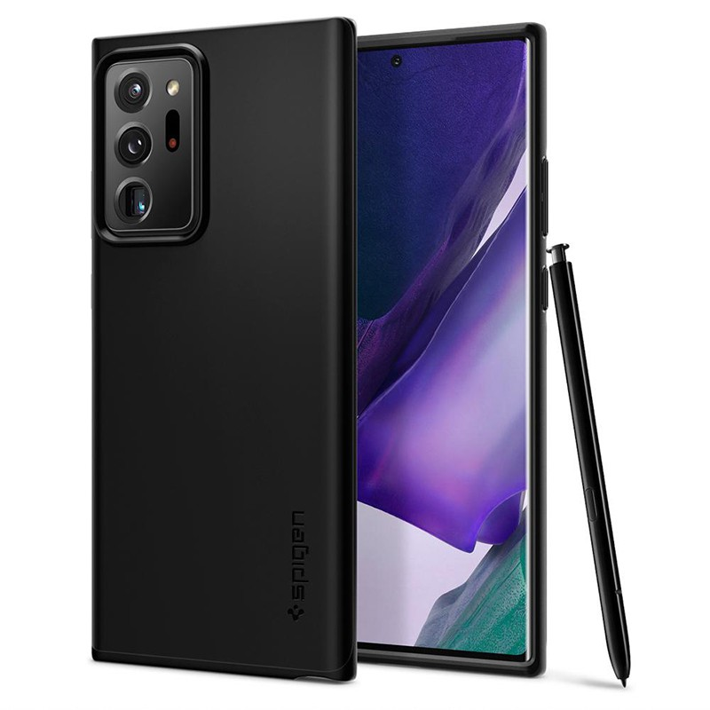 SGP / Spigen Galaxy Note 20 Ultra Thin Fit-手機保護殼