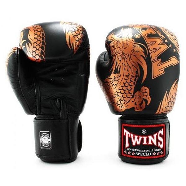 『VENUM旗艦館』12oz TWINS 限量飛龍款 拳擊泰拳 手工真皮拳擊 泰拳MMA 搏擊比賽拳套 黑金