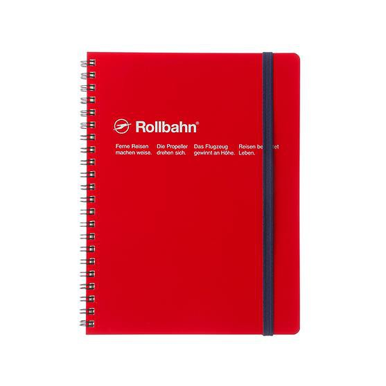 DELFONICS Rollbahn Pocket Notebook/ A5/ Red eslite誠品