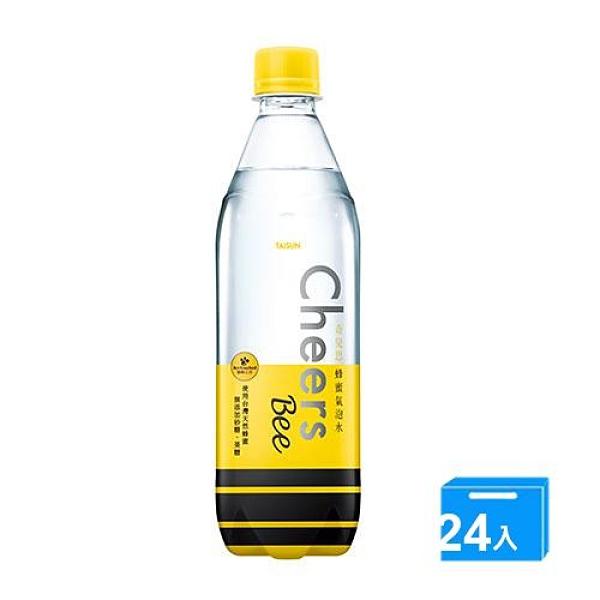 CHEERS蜂蜜氣泡水590ML x24【愛買】