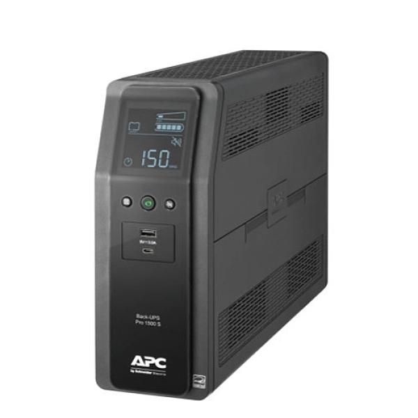 APC Back-UPS Pro BR 1500VA 在線互動式 UPS 不斷電系統 正弦波 10座 AVR BR1500MS-TW