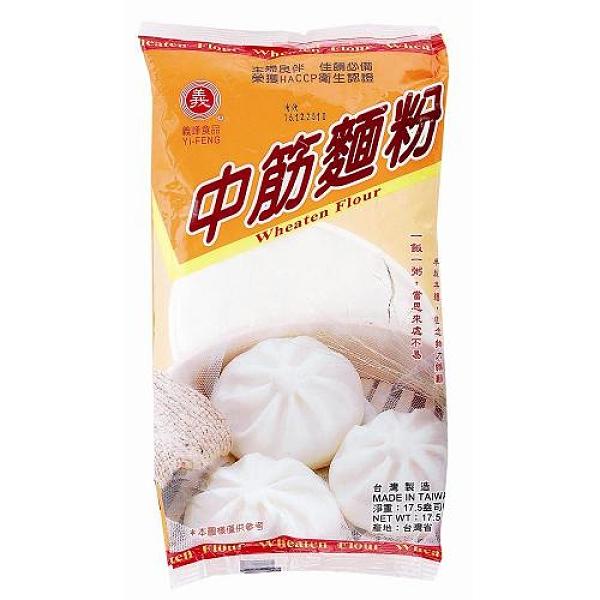 義峰中筋麵粉500g【愛買】
