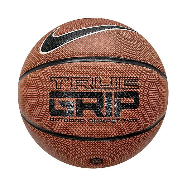 Nike Nike True Grip [NKI0785506]籃球 6號 耐磨 抗汙 室內 戶外 十字紋 PU 橘黑