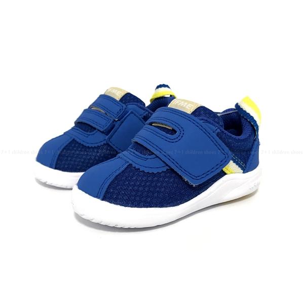 《7+1童鞋》日本 IFME 寶寶機能 學步鞋 D497 藍色