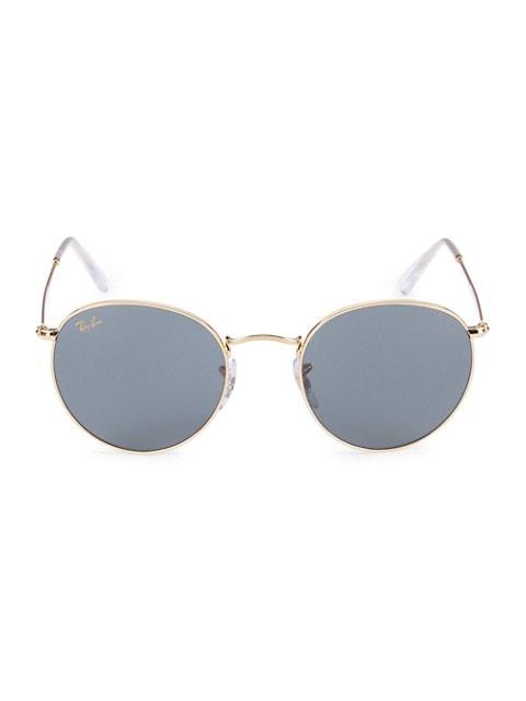 RB3447 50MM Round Sunglasses