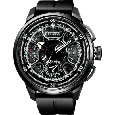CITIZEN 星辰 限量GPS衛星對時 鈦金屬手錶 CC7005-16F