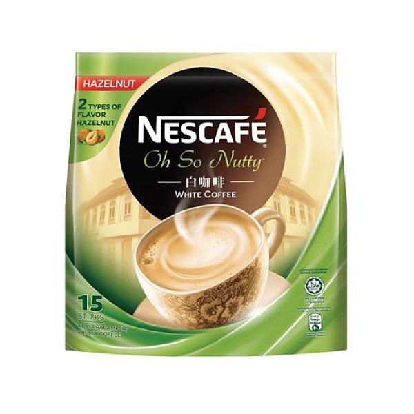 雀巢白咖啡榛果36g x15【愛買】