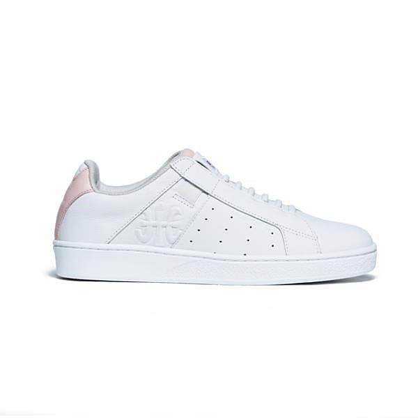 【南紡購物中心】【Royal Elastics】Icon Genesis 粉白真皮運動休閒鞋 (女) 91902-016