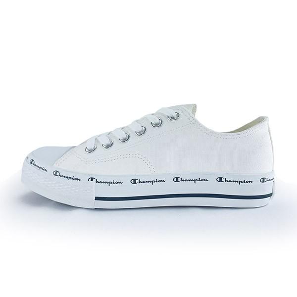 Champion ClassicCP 休閒鞋 帆布鞋 串標都LOGO Q軟底 白色 男女尺寸【USLS-1013-00】
